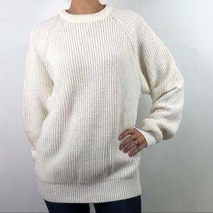 High Sierra Mervyns Vintage Oversized Knit Sweater